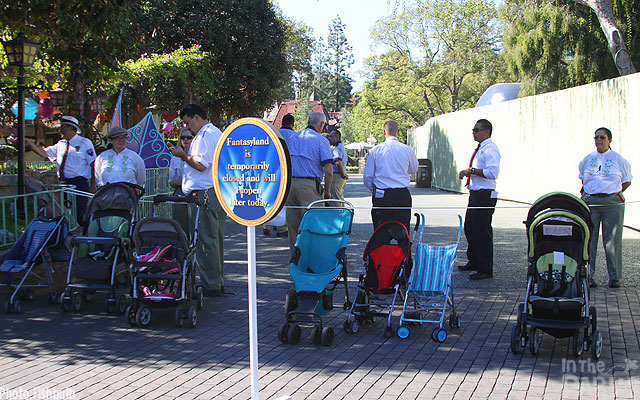 Filming Saving Mr. Banks in Disneyland