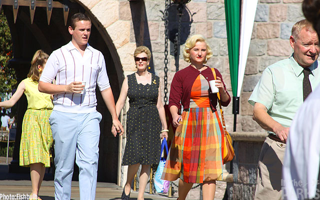Saving Mr. Banks at Disneyland