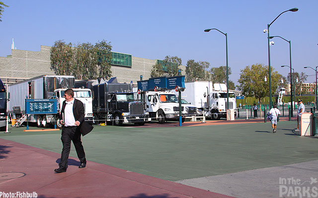 Grip trucks for Saving Mr. Banks