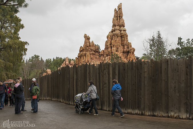 Rainy days wash out crowds as Captain America arrives at Disneyland