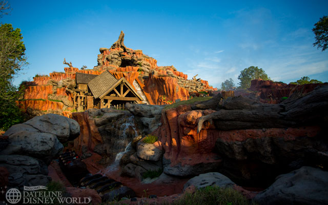 Splash Mountain is entertaining guests after its excellent refurbishment.